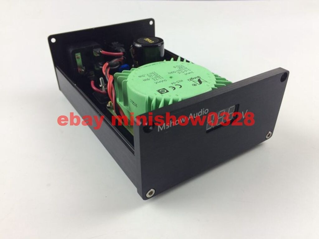 External Linear Power Supply Dc 9v For Dac Cm6631 Xmos Low Noise Regulated Dual Polarity By Lm317 And Lm337 3 Of 7 Option 9v12v15v 4