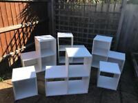 LARGE Set of storage Shelves.