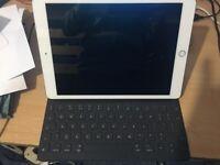 IPad 7th generation 32gb + Apple Smart Keyboard both with 1 year John Lewis warranty