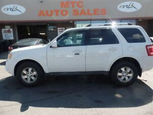 2012 Ford Escape Limited, LEATHER, SUNROOF, 4X4