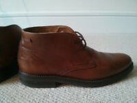 Massimo Dutti men´s boots brown leather EUR40 UK 6