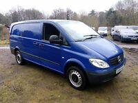 Mercedes-Benz Vito 2.1 111CDI Dualiner Basic Long Panel Van 5dr Clean Van , Tow Bar , No Vat