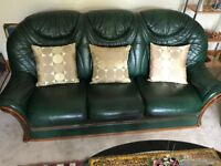 Lovely 3 piece leather suite