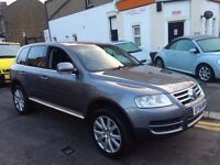 VOLKSWAGEN TOUAREG 2.5 DIESEL AUTOMATIC LOW MILEAGE 2005 FULL COMPREHENSIVE HISTORY 2 KEYS MINT