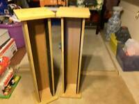 CD Towers Pine Finish
