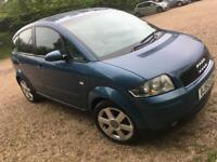 Used, AUDI A2 PERFECT CONDITION long MOT AIR CON LOTSA HISTORY ONLY 1100 for sale  Colchester, Essex