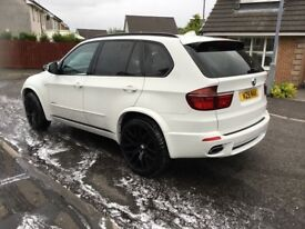 White BMW X5 X drive 40D M Sport Auto