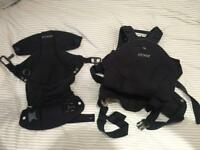 Stokke 'MyCarrier' 3 in 1 baby carrier with instructions rrp £140