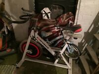 Exercise bike used a few times vgc