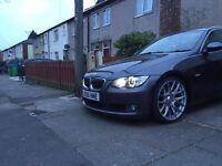 BMW e92 navi, fsh, fully loaded, black leather