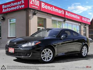 2008 Hyundai Tiburon GS-ROOF-B/T-ALLOYS-NEW TIRES-CLEAN CARPROOF
