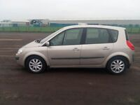 RENAULT SCENIC DYNAMIQUE 130 DCI 1870cc MPV DIESEL LOW MILES SERVICE HISTORY ONE OWNER