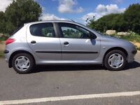 2000 peugeot 206 1.1 petrol breaking for spares