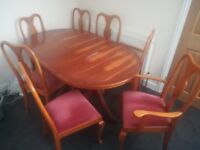 8 chairs including 2 carvers with FREE delivery in Bristol