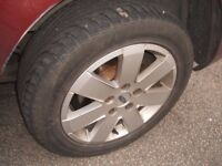 3 pairs of alloy wheels for FORD GALAXY VW SHARAN SEAT ALHAMBRA