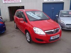Vauxhall ZAFIRA Active,7 seat MPV,FSH,full MOT,1 previous owner,runs and drives very well,only 58k
