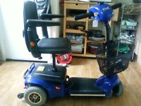 WISPA CAR BOOT SIZED MOBILITY SCOOTER WITH NEW BATTERIES FITTED FOR PIECE OF MIND