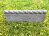 40 Garden Edging Stones Stylish Rope Design (18 Meters)
