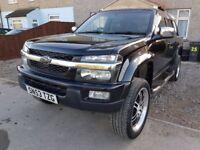 Chevrolet Colorado isuzu rodeo based pick up truck,