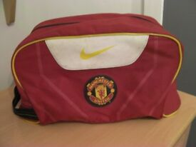 Man Utd Football Boot Bag