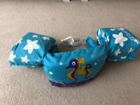 Sevylor Arm Bands Puddle Jumper, inflatable arm floats, 2-6 years old