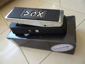 Vox 847A Keeley modded wah pedal