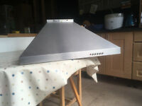 Cooker extract hood - Stainless Steel 600mm wide