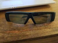 Samsung 3D active glasses SSG-2100AB. (3 PAIRS)