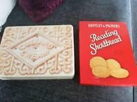 Vintage biscuit tins
