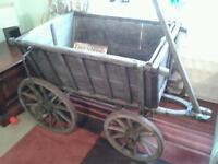 OLD GERMAN DOG CART ORIGINAL AND COMPLETE IN EXCELLENT CONDITION