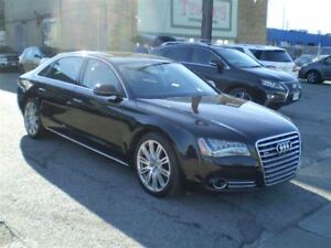 2014 Audi A8 L 4.0T! TURBO! NAV! LOADED! NO ACCIDENTS!