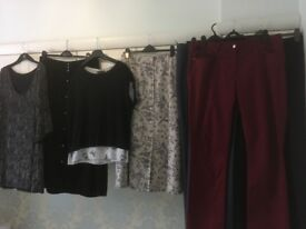 New or as new ladies clothes size 16; suit tall lady