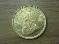SOUTH AFRICAN 1975 1oZ FINE GOLD FULL KRUGERRAND