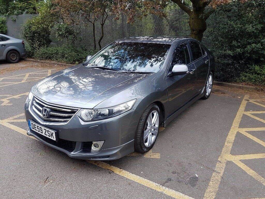 honda accord 2009 grey 2 2 i dtec type s 4dr w fsh in harrow london gumtree. Black Bedroom Furniture Sets. Home Design Ideas