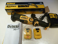 DEWALT RECIPROCATING SAW, 10.8 VOLT, USED ONCE, AS NEW
