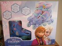 FROZEN INLINE SKATES SIZE 13j--3BRAND NEW NEVER BEEN OUT OF BOX