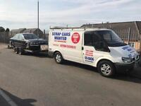 Scrap cars wanted £100 plus 07794523511