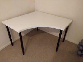 IKEA Corner table top LINNMON with adjustable legs