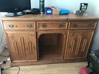 Solid handmade Welsh dresser