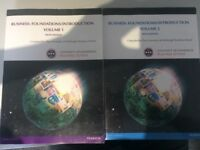 Introduction to Business Custom Textbook Edinburgh (both volumes)