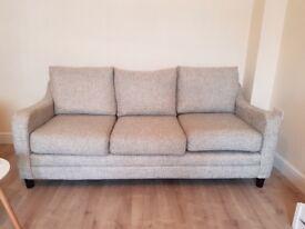 2 x 3 Seater sofas & 1 Chair