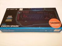 Logitech G910 Orion Spark RGB Keyboard