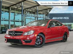 2014 Mercedes Benz C63 AMG Coupe