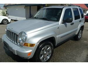 2005 Jeep Liberty  4X4 Limited LOW KM