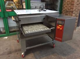 "NEW GAS 21"" CONVEYOR BELT PIZZA OVEN CATERING COMMERCIAL FAST FOOD RESTAURANT KITCHEN TAKE AWAY"