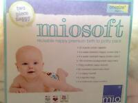 Bambino mio reusable nappy birth to potty pack