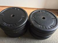 14x10kg iron weights £10 each