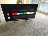 Sony Bravia led smart tv super slim design 55inch 4K ultra UHD Android