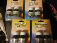 30 packs (40ml), printer ink cartridge refill kit joblot boot fair resale