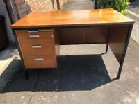 Office writing desk industrial vintage office desk